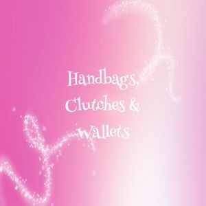 Handbags - Handbags, clutches & wallets!